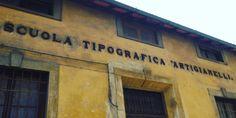 Scuola Tipografica Italian shop signs