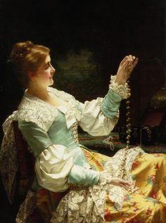 The Jewel Box :: Jan Frederik Pieter Portielje  - ca 1890
