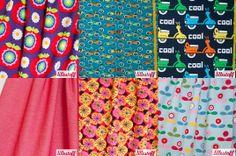 Lillestoffe Cool Stuff, Fabrics, Cool Things