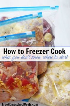 Freezer cooking can feel overwhelming when you don't know where to start. Let me help you by getting you going with these first steps!