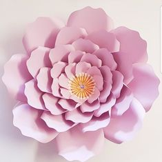 SALE -Medium Garden Rose #1 PDF Template - Digital Download - PDF file - print trace cut #paperflowers #paper flower #paper roses