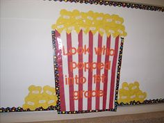 bulletin boards / I like this for beginning of year!