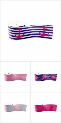 Our collection of pink ribbons featuring cute nautical designs. If you love pink and the nautical theme, you'll definitely have a fun time on your projects with these ribbons. They're ideal for wrapping gifts, making bows, and decorating venues. Nautical Design, Nautical Theme, Nautical Flip Flops, Making Bows, Pink Ribbons, Wrapping Gifts, Fun Time, How To Make Bows, Decorating