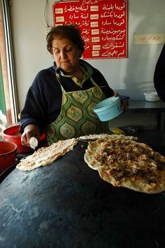 Pizza à Baalbek
