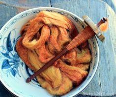 Spinning Silk Yarn