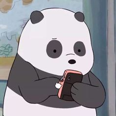 We Bare Bears Wallpapers, Panda Wallpapers, Cute Cartoon Wallpapers, Cartoon Cartoon, Panda Icon, We Bear, Bear Wallpaper, Cartoon Profile Pictures, Cute Icons