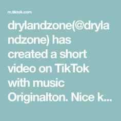 drylandzone(@drylandzone) has created a short video on TikTok with music Originalton. Nice keyboard solo by Christian #Blues #bluesrock