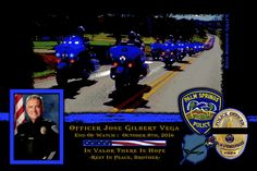 "Bryan Reyes, Chief of the Palm Springs Police Department in California sadly reports the death of Officers Lesley Zerebny and Jose Gilbert ""Gil"" Vega.    http://www.lawenforcementtoday.com/in-memoriam-officer-lesley-zerebny-and-officer-jose-gilbert-gil-vega/"