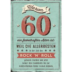 Why 60 is a fabulous age: – Doppelkarten – Grafik Werkstatt Bielefeld - New Diy Gifts Trend 80th Birthday Invitations, Fun Wedding Invitations, Diy Gifts For Mom, Easy Diy Gifts, 60th Birthday, Birthday Cards, Happy Birthday, Happy B Day, For Your Party