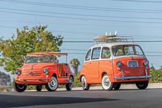 1960 Fiat 600 Jolly & 1958 Fiat 600 Multipla - 12 Beautiful, Rare, and Unusual Cars at the 2015 Pebble Beach Car Show