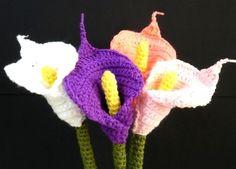 Flower Crochet Pattern Calla Lily Crochet Pattern PDF door melbangel