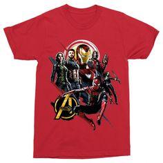 Marvel rajongó vagy?!😍 Csekkold le a pólóinkat a weboldalon  #bosszúállók #kedvenc #best #ajándék #ajándékötlet #amerikakapitány #pókember #vasember #thor Infinity War, Thor, Avengers, Mens Tops, T Shirt, Marvel, Products, Fashion, Supreme T Shirt