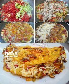 Kahvaltıya Nefis Omlet Tarifi nasıl yapılır? 3.733 kişinin defterindeki Kahvaltıya Nefis Omlet Tarifi'nin resimli anlatımı ve deneyenlerin fotoğrafları burada. Yazar: Ş. BURAK