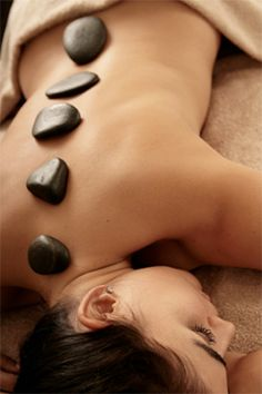 Las Vegas hot stone massage therapy! If you've never received a hot stone massage in Las Vegas, you are in for a real treat!
