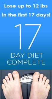 Lose weight quickly the healthy way on the 17 Day Diet - low carb and teaches you how to eat clean. #17daydiet #lowcarb