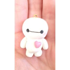 """""""Made a chibi baymax out of polymer clay inspired by @rachyh96 #rachyh96 #creativesculpey #sculpey #sculpeyclay #clay #polymerclay #polymer"""" Photo taken by @bekycheppy on Instagram, pinned via the InstaPin iOS App! http://www.instapinapp.com (06/07/2015)"""