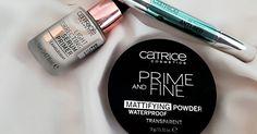 É verdade que me desgracei um pouco com a Catrice! A marca de maquilhagem low cost lançou recentemente uma gama de produtos simplesmente b...