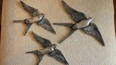 Seramik boyama Kuşlar
