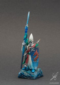 Pro Painted Warhammer Lothern Sea Guard High Elves | eBay