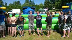 Obľúbné nafukovacie, futbalové ihrisko na hru vodný futbal na prenájom, rozmer 12 x 6 m. Sports, Hs Sports, Sport