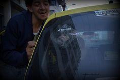 El Resquicio en el taxi
