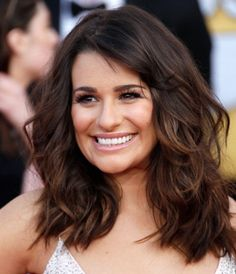 Love Lea Michele's hair like this