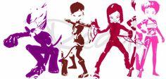 Code Lyoko 5 season by Redworld96  #code #lyoko #odd #ulrich #yumi #aelita