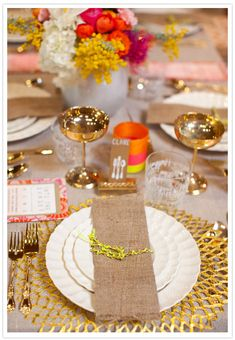 Gorgeous, intricate table design from Canvas & Canopy with florals by Megan Fickling of La Partie Events.