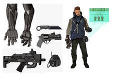 cyberpunk bounty hunter by ashleyboonePierce on deviantART