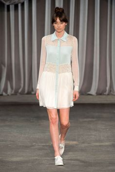 View photos of the Christian Siriano Spring 2013 Ready-to-Wear Collection