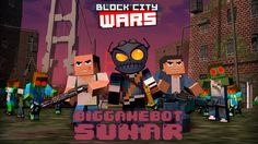 #android #blockcitywars #mobilgame #minecraft #letsplay #game #gameplay