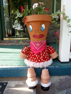 images about My Flower Pot People / Animals on . Flower Pot Art, Clay Flower Pots, Flower Pot Crafts, Flower Pot People, Clay Pot People, Clay Pot Projects, Clay Pot Crafts, Cheap Christmas Crafts, Mod Podge Crafts