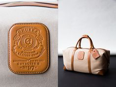 """Ghurka Weekender, from Trunk Club's """"Best Carry-on Bags"""" blog post."""