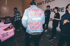 An exclusive look at the turn out for Anti Social Social Club's first ever pop-up exhibition.