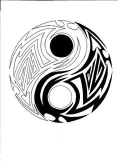 beautiful-tribal-yin-yang-tattoo-design.jpg (762×1048)