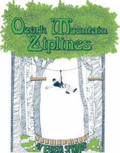 Eureka Springs Arkansas Zip Line, Canopy Tours, Buffalo River Outdoor Center, Family Fun