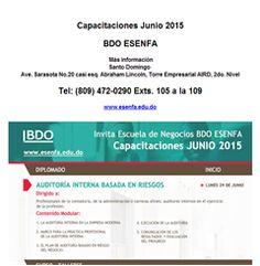 Capacitaciones Junio 2015 (809) 472-0290 - Publicidad