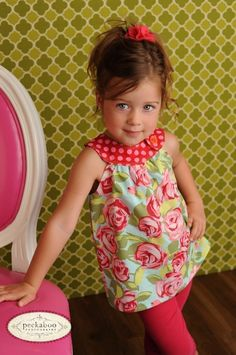 nice colors on this child toddler dress