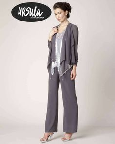 Special Occasion Chiffon Pant Suit From Stardust Celebrations In Dallas Texas Perfect For Mother Of