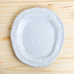 fleurs medium platter