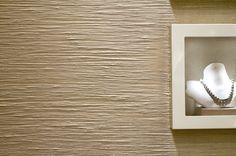 Flur Gestaltung-Wand Rollputz-Oberfläche