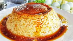 Egg flan very cheap, NO OVEN and with only 3 ingredients. Healthy Snacks, Healthy Recipes, Savarin, Deli, French Toast, Oven, Pudding, Ice Cream, Eggs