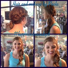 Prom 2016! Hair and Makeup by Paola at Karma Salon and Spa.