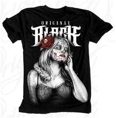 NEW! Original Black Python Snake Girl T Shirt Black  Our Price: $28.00  Sale Price: $19.99   #Introducing #OriginalBlack #new #paint #original #artist #Tattoo #design #Artwork creation now #available at #cluburban.com #freeshipping #onSALe #SALE