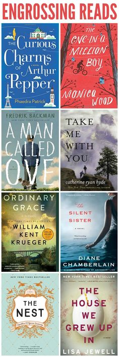 Here's the ultimate list of this year's must read books!