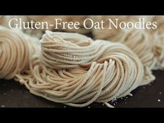 How to make Gluten-Free Oat Pasta with Philips pasta maker Dairy Free Diet, Gluten Free Oats, Phillips Pasta Maker Recipes, Handmade Pasta Recipe, How To Make Noodles, Whey Protein Recipes, Asian Noodle Recipes, Noodle Maker, Gluten Free Noodles