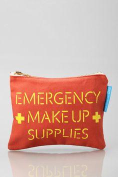 Flight 001 Canvas Makeup Bag #urbanoutfitters