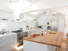 This extension has allowed the homeowners to create their perfect family kitchen