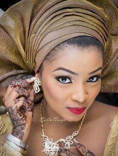 BellaNaija Bride Safiya Aliyu's Make Up by Mamza Beauty | Atilary Photography