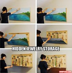 hidden jewelry storage